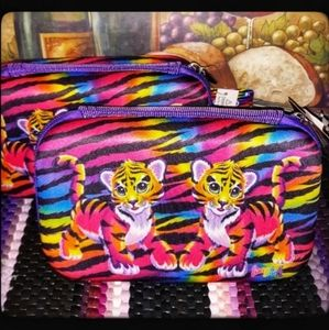 🆕️FREE SHIP🐯LISA FRANK HARD CASE PENCIL BOX🐯